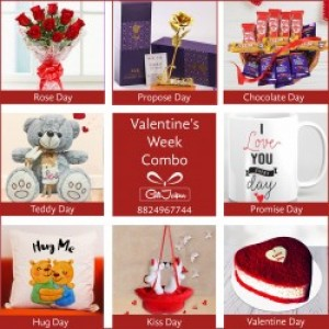 8 DAYS VALENTINE'S GIFT SERIES