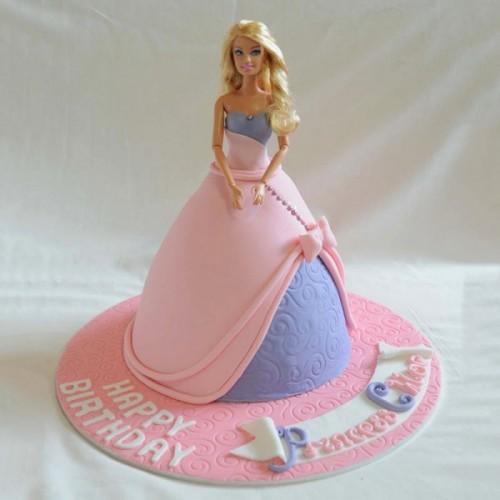 Fabulous Online Barbie Birthday Celebration Cake Delivery In Meerut Funny Birthday Cards Online Alyptdamsfinfo