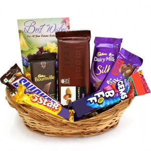 Basket Mixed Chocolate Combo Card
