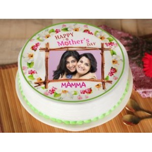 Mothers Day Special Photo Cake
