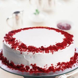 Red Velvet Fantasy Cake