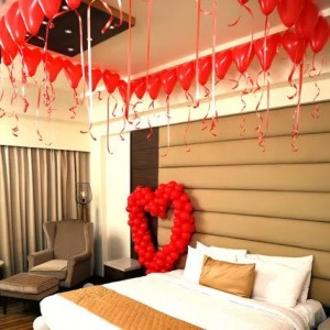 Romantic Balloon Decoration
