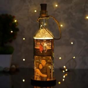 PERSONALIZED GLASS BOTTLE LAMP