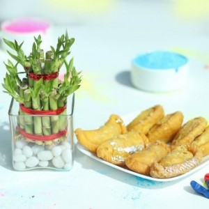 Holi Special Gujia & 2 Layer Bamboo