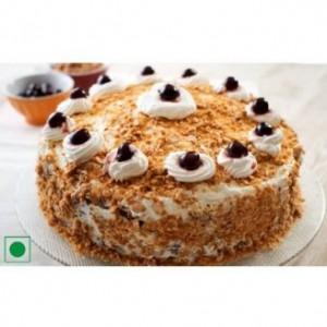 Nutty Blueberry Cake