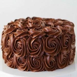 Choco Flora Cake