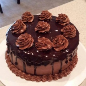 Sugarfree Chocolate Cake