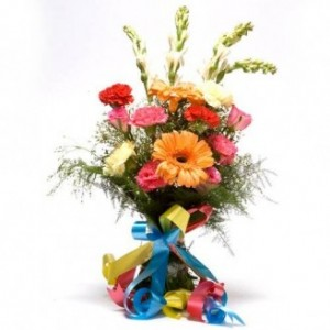 Colorful Mixed Flower Bunch