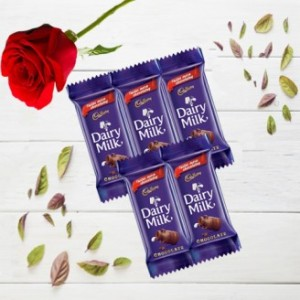 Pack Of 5 Dairy Milk