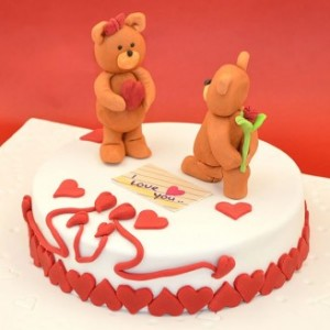 Cake For Valentine