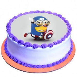 Captain Minion Cake