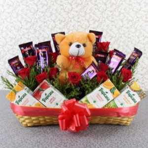 Healthy Choice Gift Basket