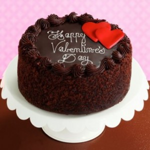 Chocolate Cake For Valentine