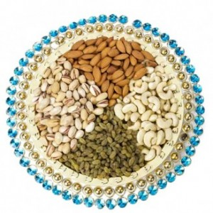 Dry Fruits Thali (600 grams)