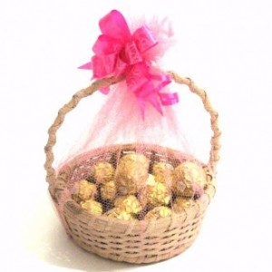 Ferroro Rocher Basket