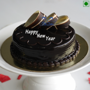 New Year Truffle Cake
