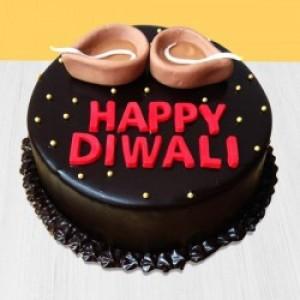 Chocolate Cake For Diwali