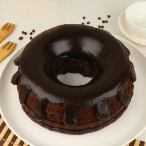 Donut Shaped Truffle Cake
