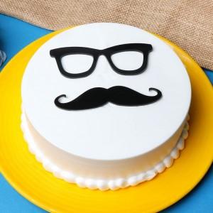 Vanilla Fathers Day Cake