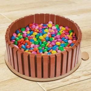 Kitkat Gems Cake Combo