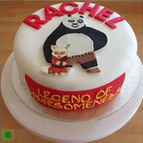 Marvelous Birthday With Kung Fu Panda And Shifu Cake Funny Birthday Cards Online Elaedamsfinfo