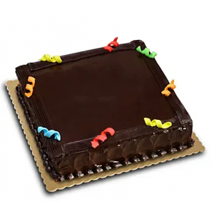 Expressive chocolate Cake