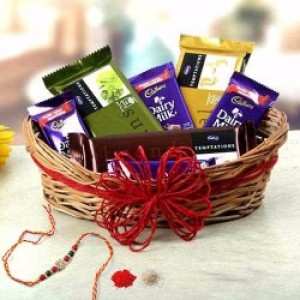 Chocolaty Rakhi Hamper