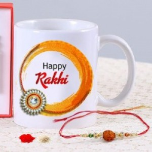 Rakhi with Personalized Mug