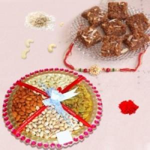 Healthy Rakhi Combo