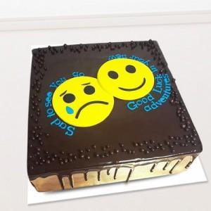 Cute Emoji Cake