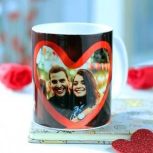 Hearty Couple Personalized Mug