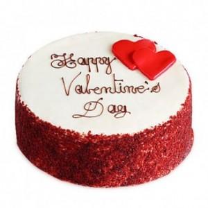 Valentine Special Red Velvet Cake